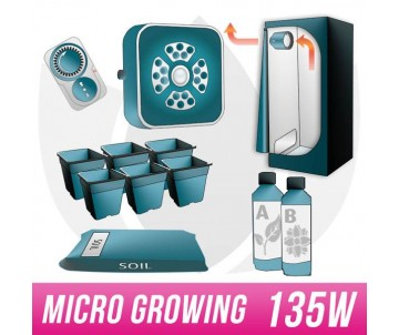 Micro Growing Kit LED G3+ 135W