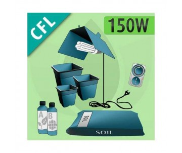 Kit Indoor Terra CFL 150w
