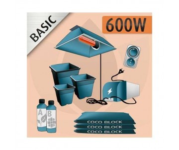 Kit Indoor Cocco 600w - BASIC