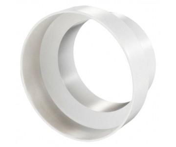 Riduttore PVC bianco