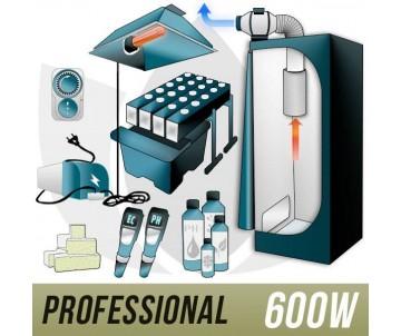Kit Aeroponica 600w + Grow...