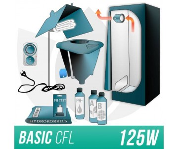 Kit Indoor Idroponica CFL...