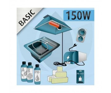 Kit Idroponica Indoor 150W