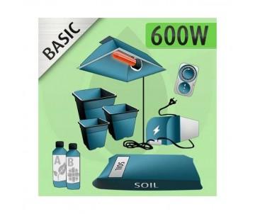 Kit Indoor Terra 600w - BASIC