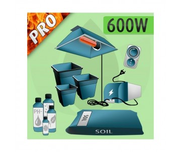 Kit Indoor Terra 600w